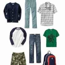 Boys Back To School Fashion