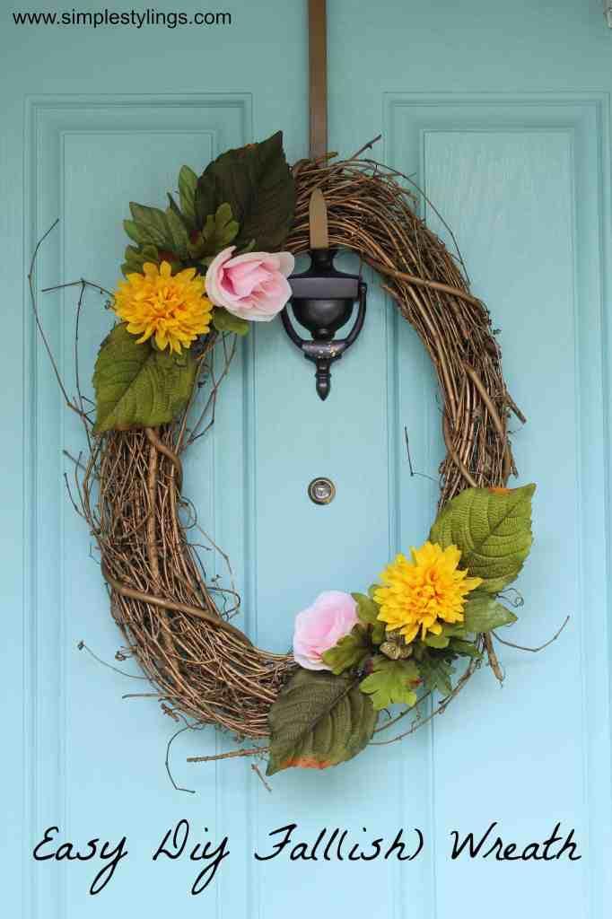 DIY Fall(ish) Wreath