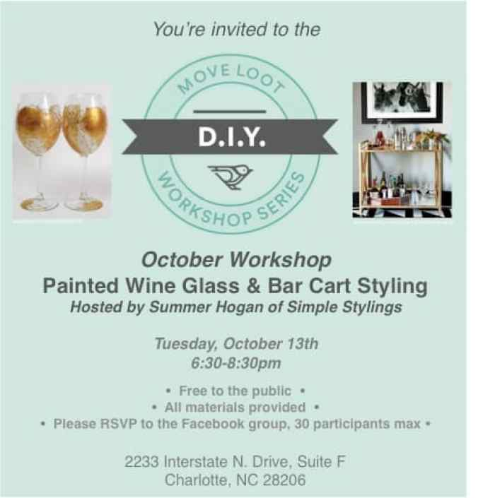 CLT_DIY Workshop_October