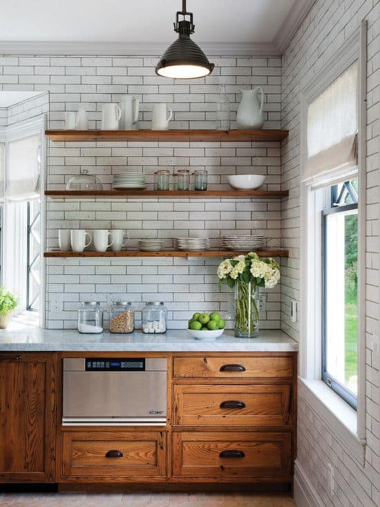 kitinspo2 (1) & Kitchen Renovation: Unfinished Oak Cabinets