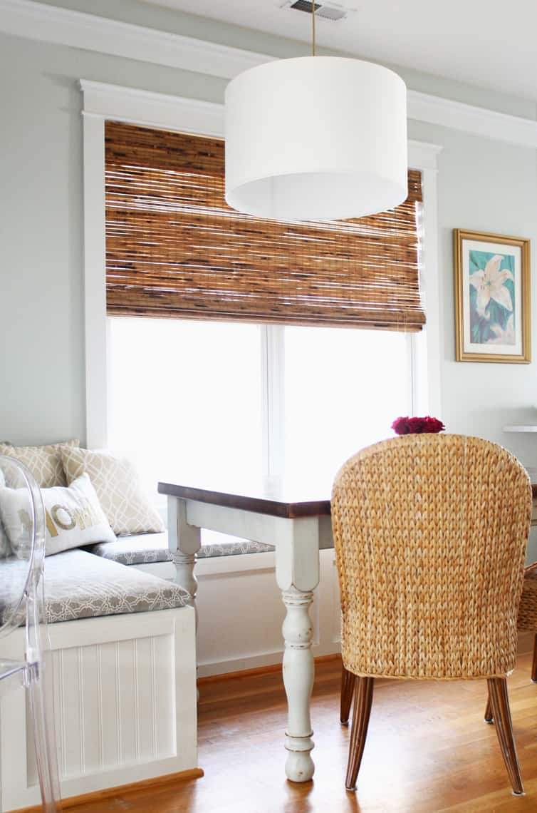 Adding Warmth And Texture With Bamboo Shades Simple Stylings