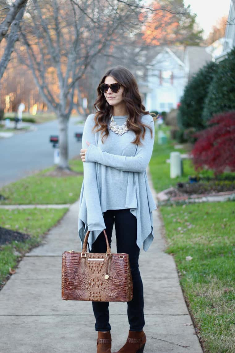 Casual Chic Tunic and Skinny Jeans