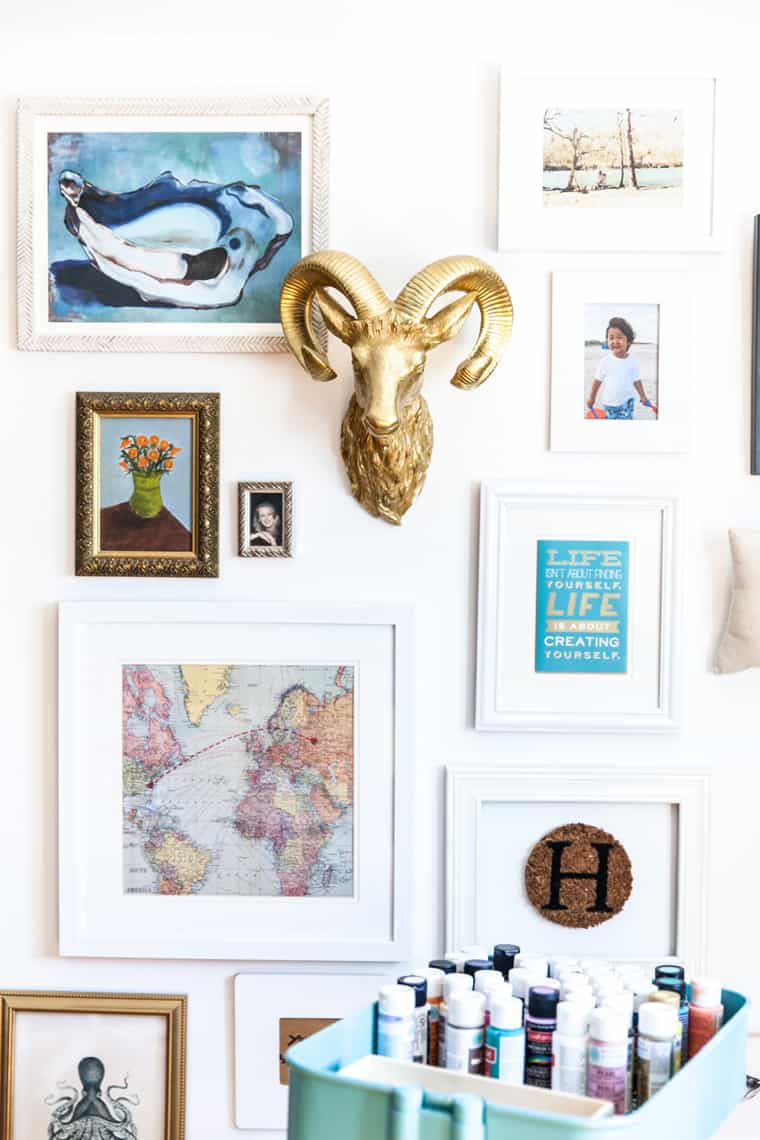 Simple Stylings Home Tour on Glitter Guide Office