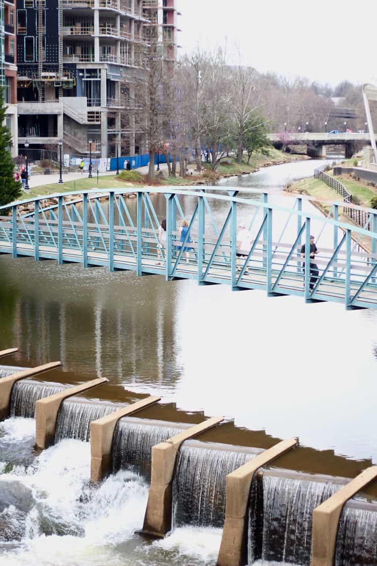 Roadtrip Reality: Greenville, SC Downtown Falls
