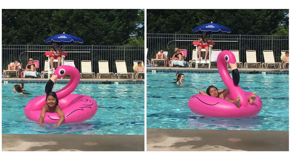 Favorite Things Friday Vol. 12: Summertime Pool Floats Flamingo