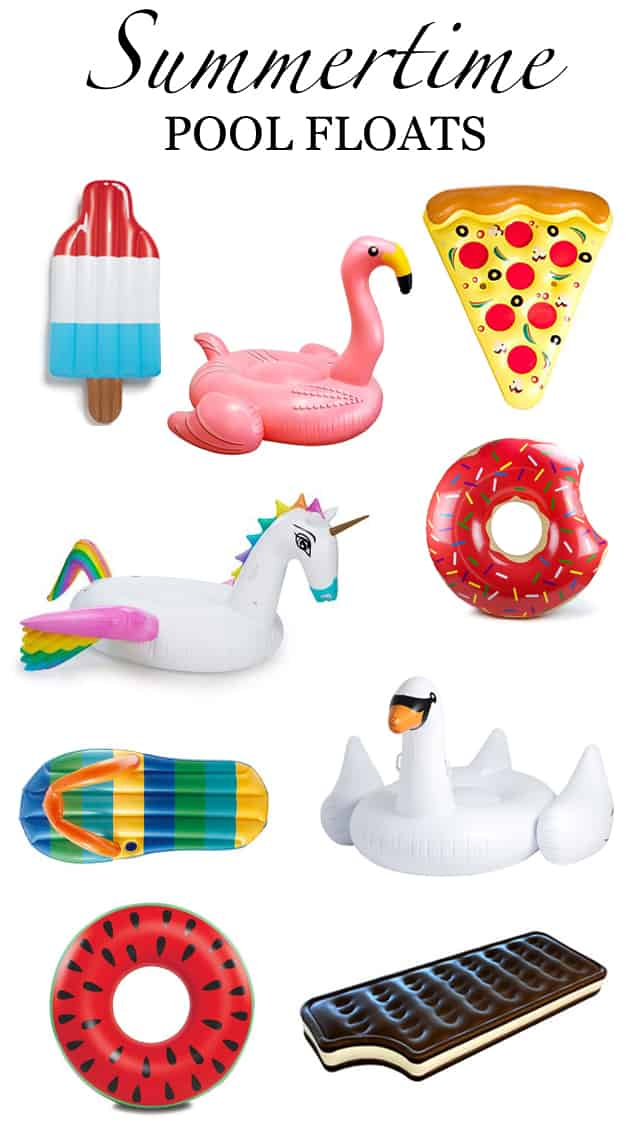Favorite Things Friday Vol. 12: Summertime Pool Floats