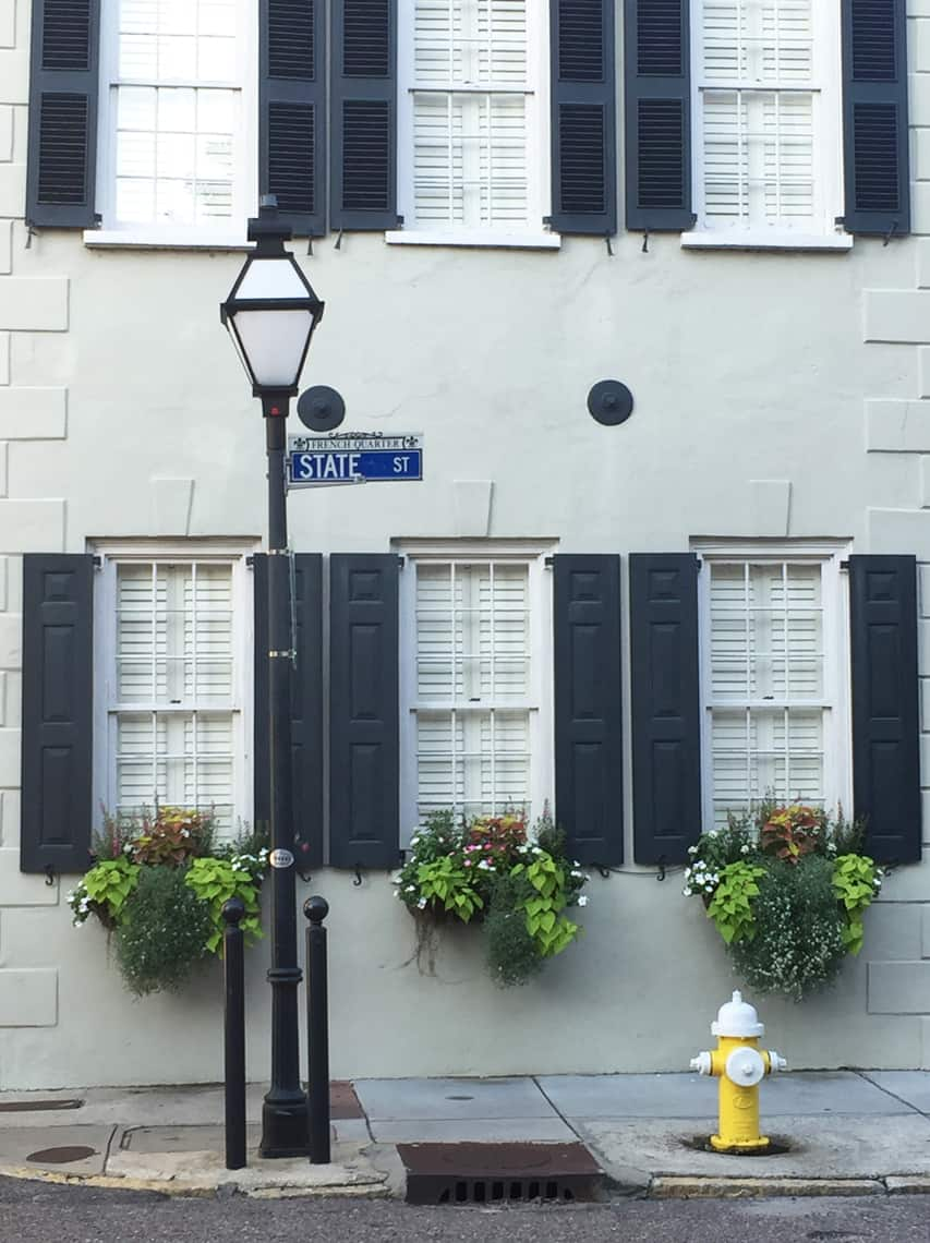 Roadtrip Reality: Charleston Window Boxes Black
