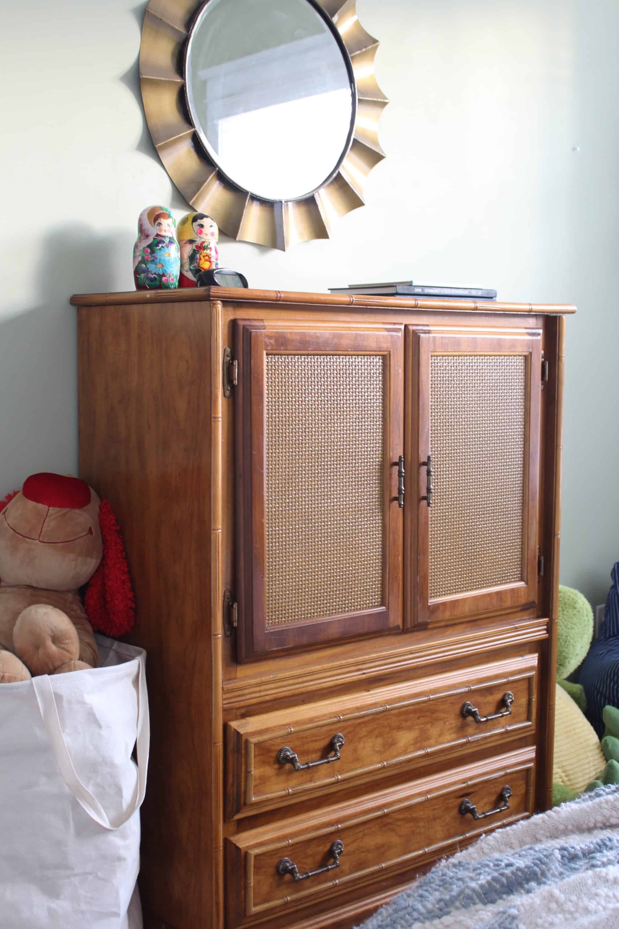 Big Boy Room: Small Change, Big Impact armoire