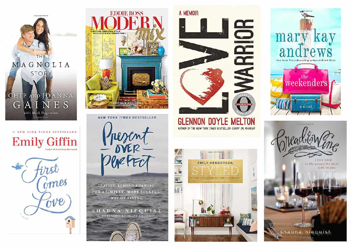 2016 Holiday Gift Guides Part 1-books
