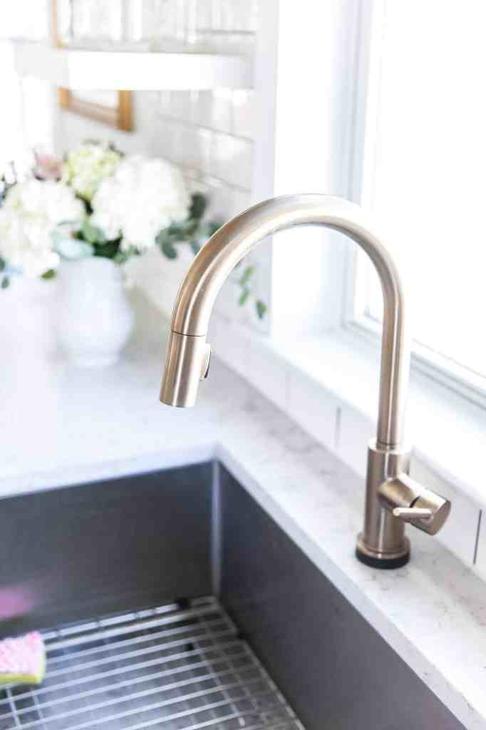 Our Kitchen Renovation: A Year-ish Later-faucet