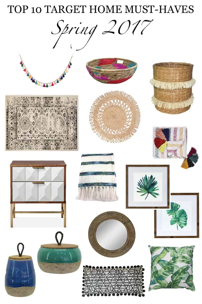 Top 10 Target Home Must-Haves: Spring 2017 favorites