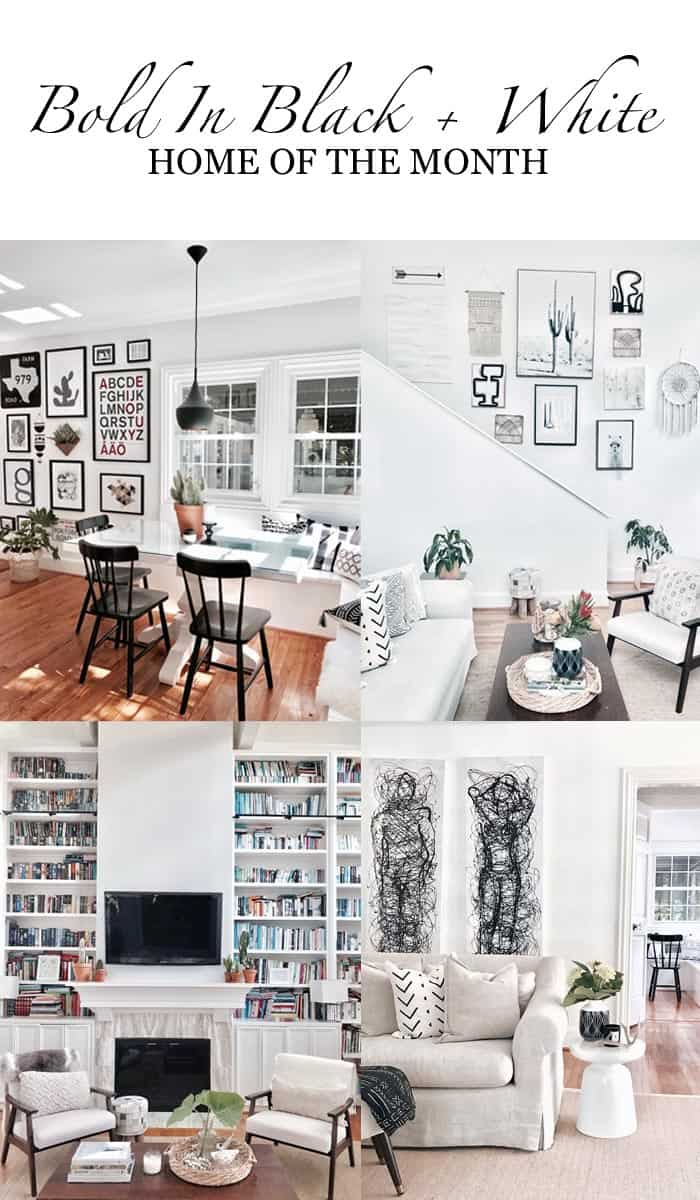 HOM: The Bold + Beautiful Home of a Talented Design Lover pin it