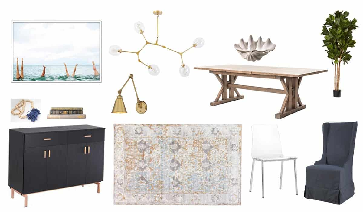 My Dream Dining Room Design Board