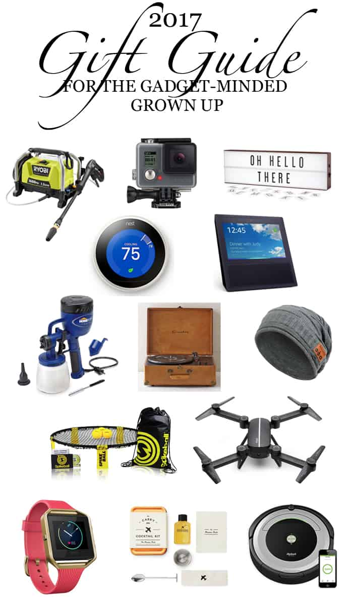 2017 Gift Guide For The Gadget-Minded Grown Up pin it