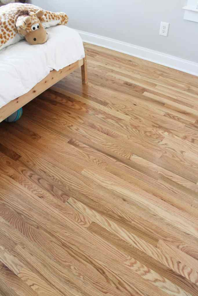 Before + After: New & Refinished Hardwood Floors after boy room
