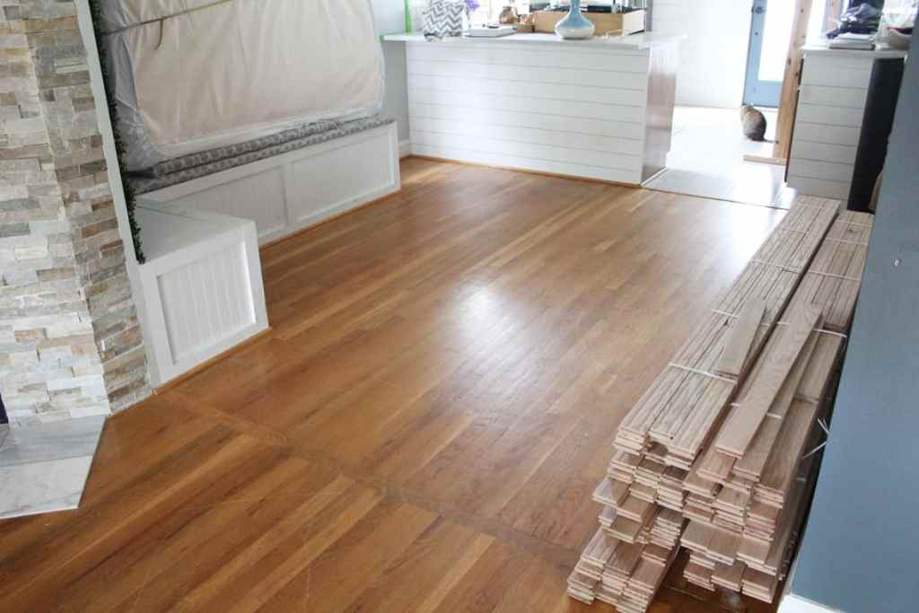 Before + After: New & Refinished Hardwood Floors room boards