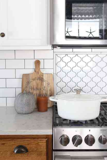 How To Decorate Your Kitchen for Fall + 2 Recipes! cutting board