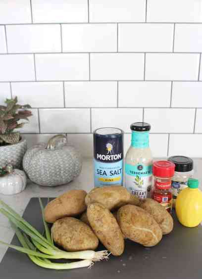How To Decorate Your Kitchen for Fall + 2 Recipes! potato