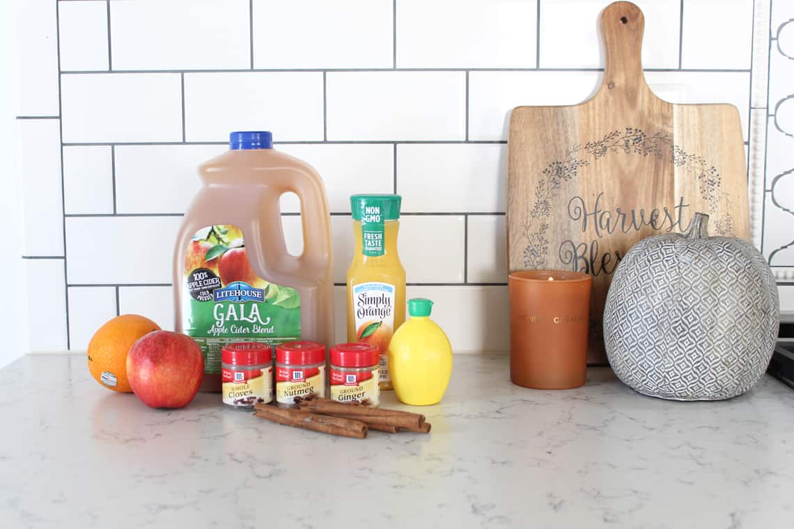 How To Decorate Your Kitchen for Fall + 2 Recipes! cider