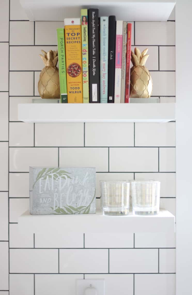 How To Decorate Your Kitchen for Fall + 2 Recipes! shelves