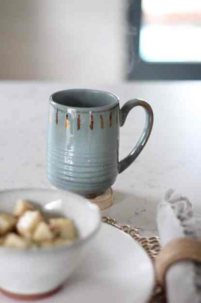 How To Decorate Your Kitchen for Fall + 2 Recipes! mug 2