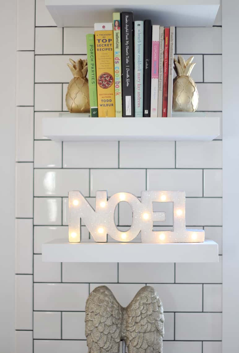 A Gold + Silver Christmas of Lights with At Home kitchen