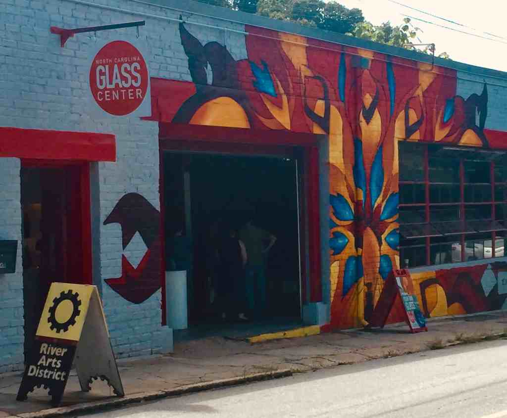 asheville glass blowing