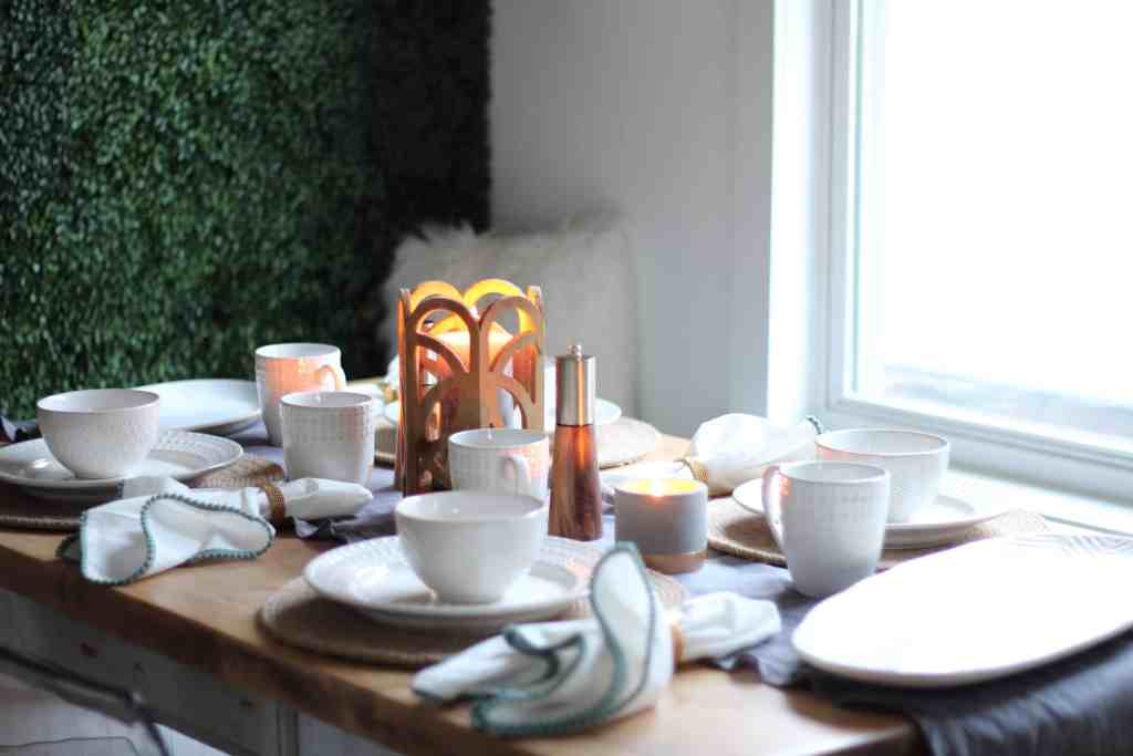 At Home Tablescape full