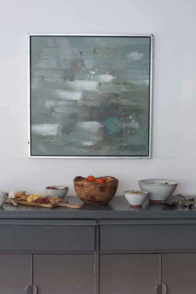 At Home Tablescape art