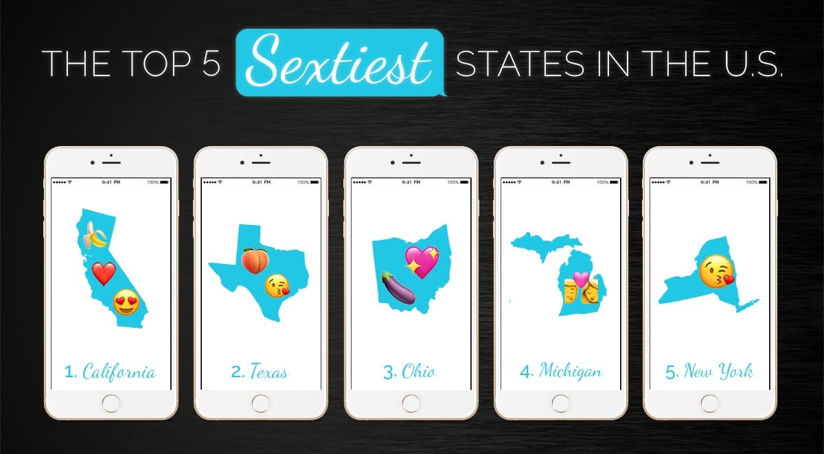 The Top 5 Sextiest States