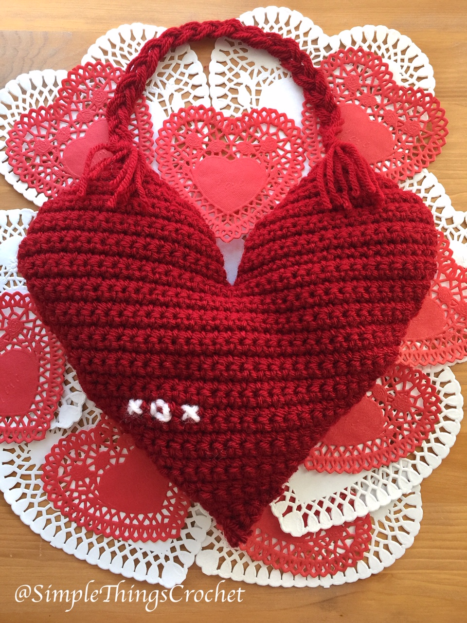 Easy Crochet Heart Pattern Archives Simple Things Crochet