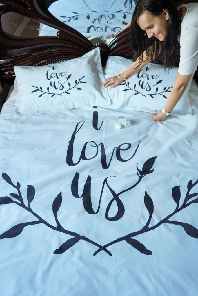 simple Ula bedding
