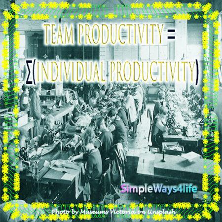 Individual productivity