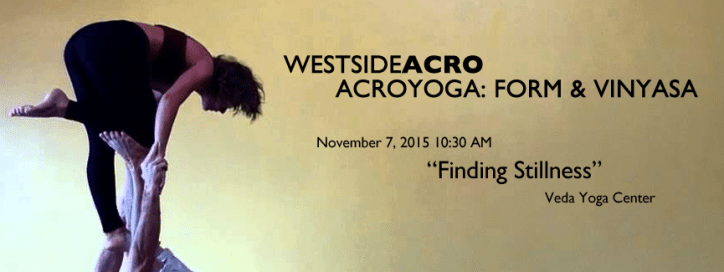 AcroYoga Form & Vinyasa - Finding Stillness