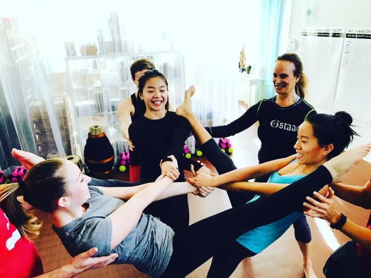 Trio Counterbalance at Veda Yoga Center