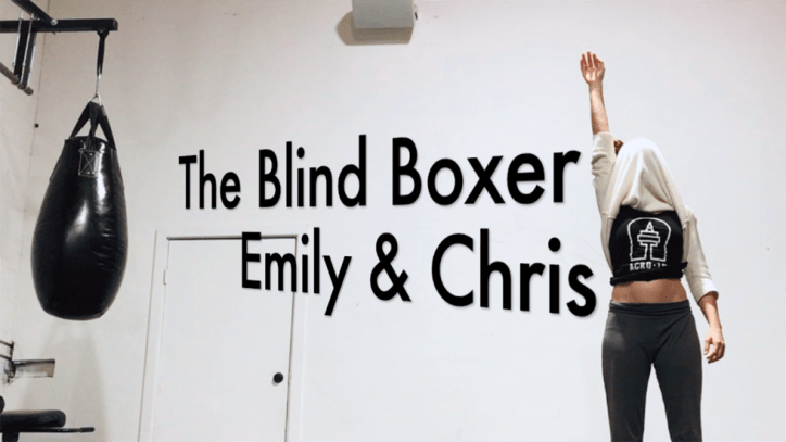 The Blind Boxer - An AcroYoga Washing Machine