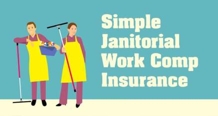Simple Work Comp offers janitorial insurance, workers compensation insurance, janitorial work comp, work comp for janitors, maids and other cleaning services employees. Workers