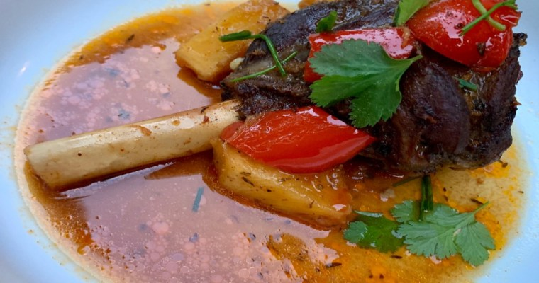 Easy Slow Cooked Lamb Shanks
