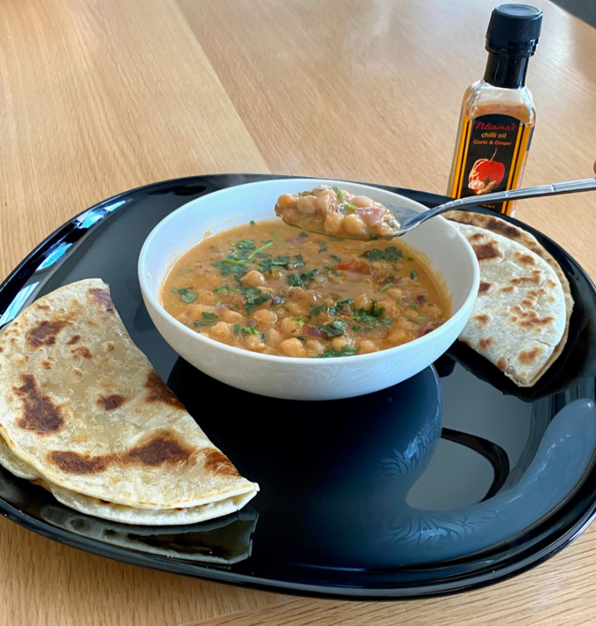 Recipe For Chickpea And Coconut Curry