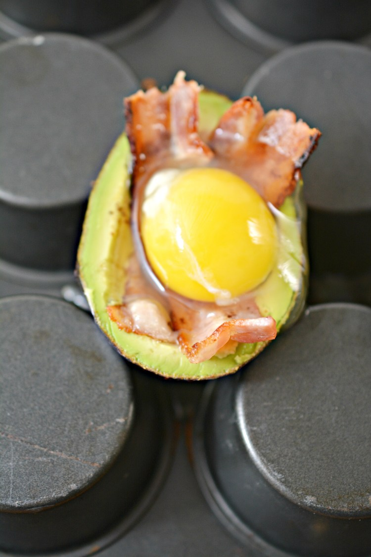egg bacon avocado