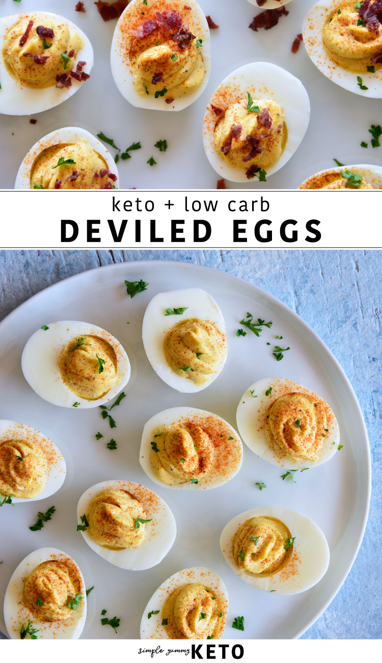 best deviled eggs recipe that is keto and low carb