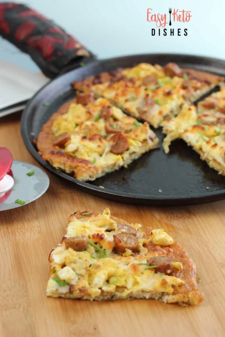 keto breakfast pizza recipe