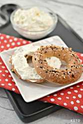 keto and low carb best bagel recipe