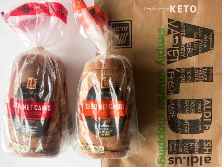 aldi keto friendly bread review