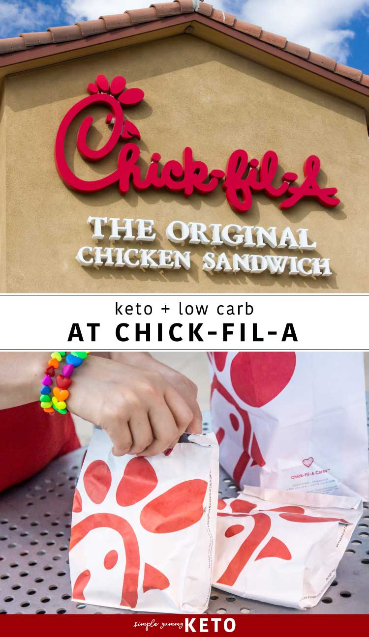 Keto friendly meal options at Chick-fil-A, what to order at Chick-fil-A on the Keto diet