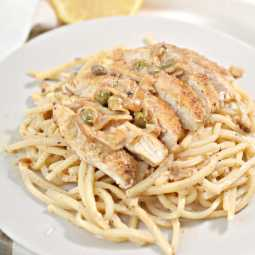 keto and low carb chicken piccata