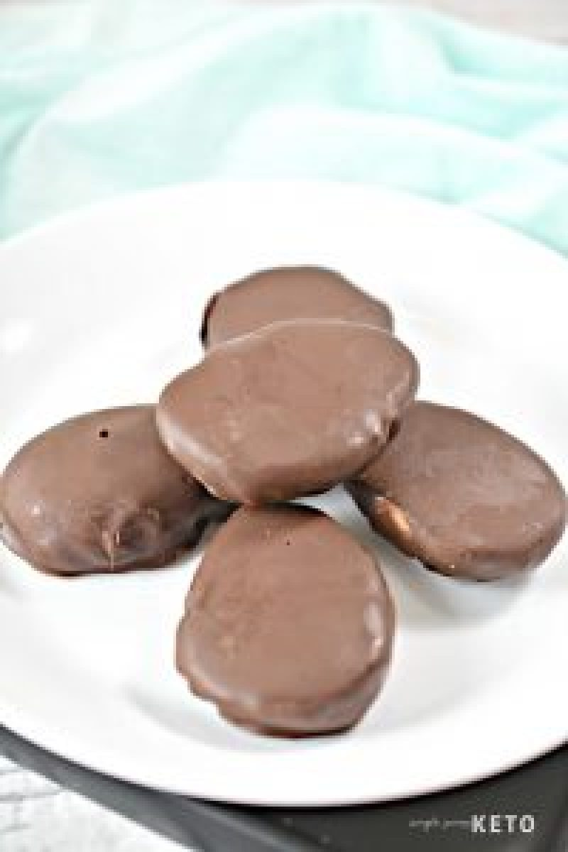 low carb and keto Reese's peanut butter eggs
