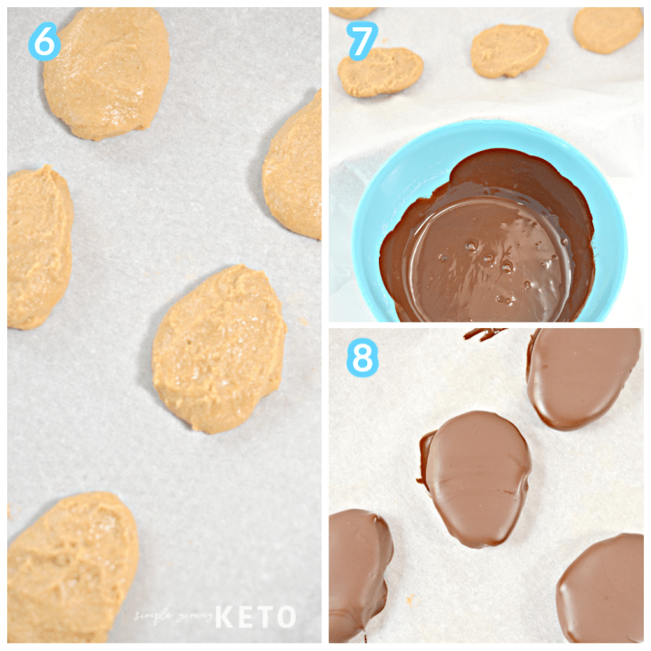 peanut butter eggs keto and low carb