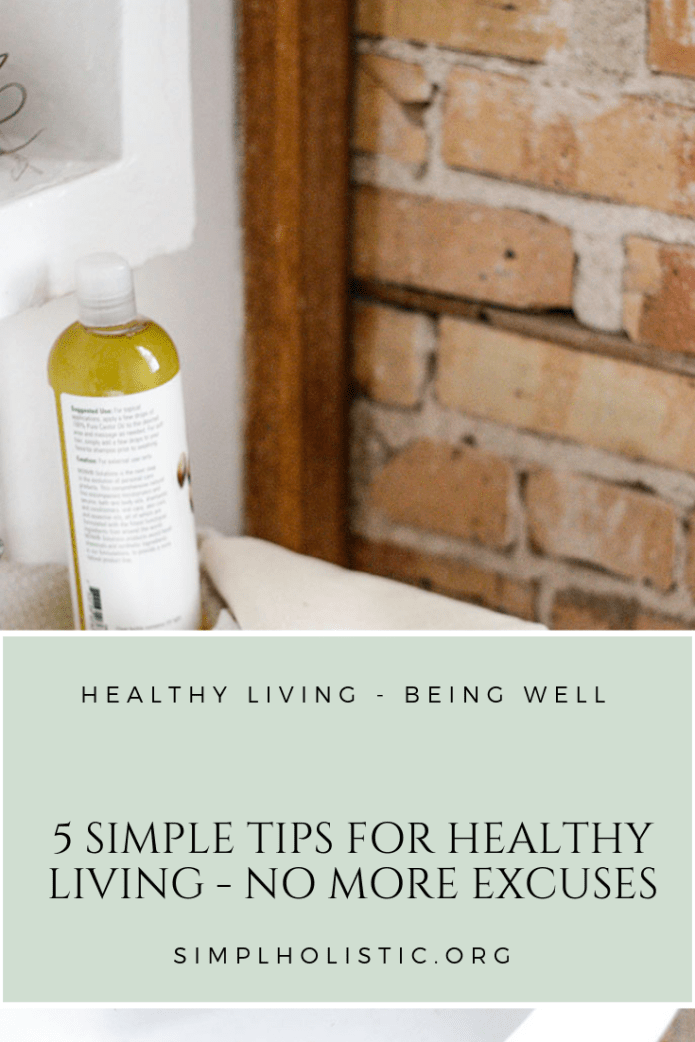 5 Simple Tips for Healthy Living-2