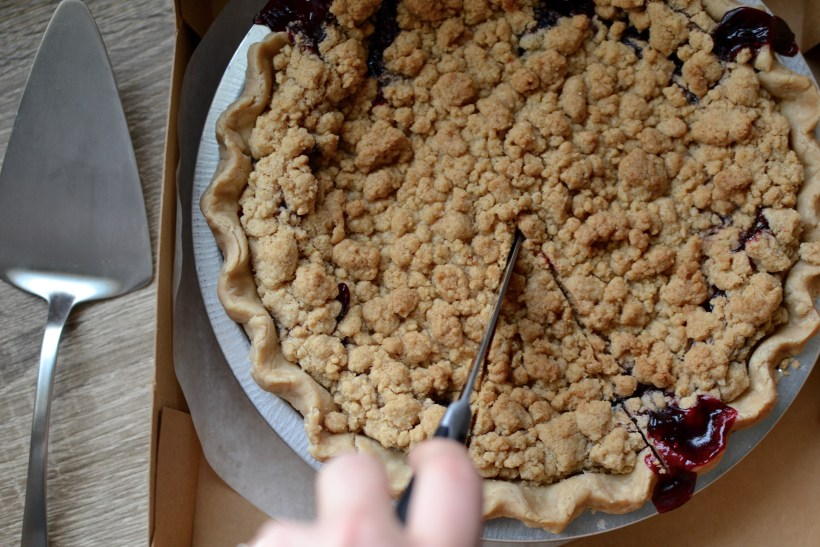 local organic pies - bean and pie